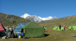 Trekking in West Altai